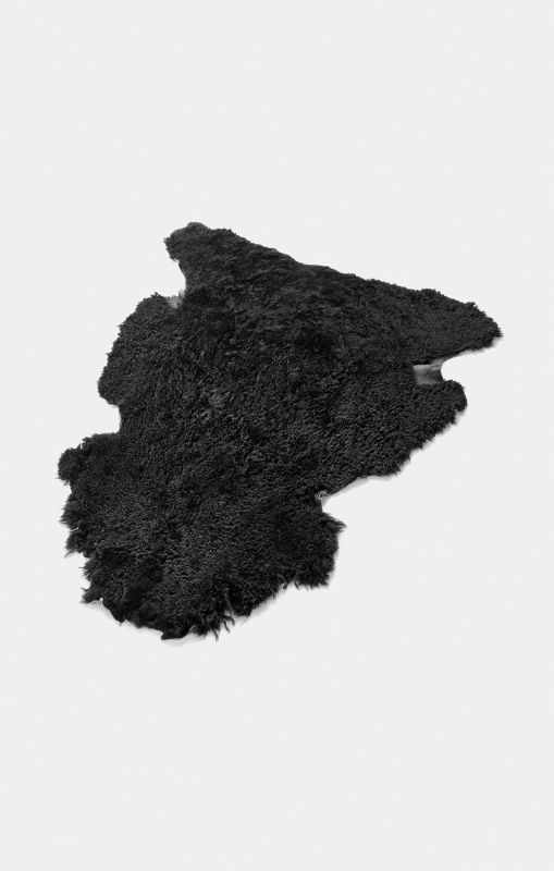 LOEFFLER-Lammfell-in-Schwarz-Short-Wool